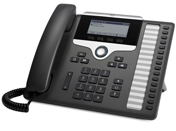 Cisco IP Phone 7861 POE, PC Port, 16 Line SIP with Multiplatform Phone firmware