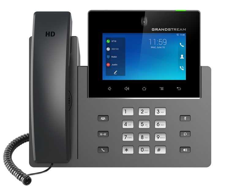 Grandstream GXV3350 - IP video phone - with digital camera, Bluetooth interface