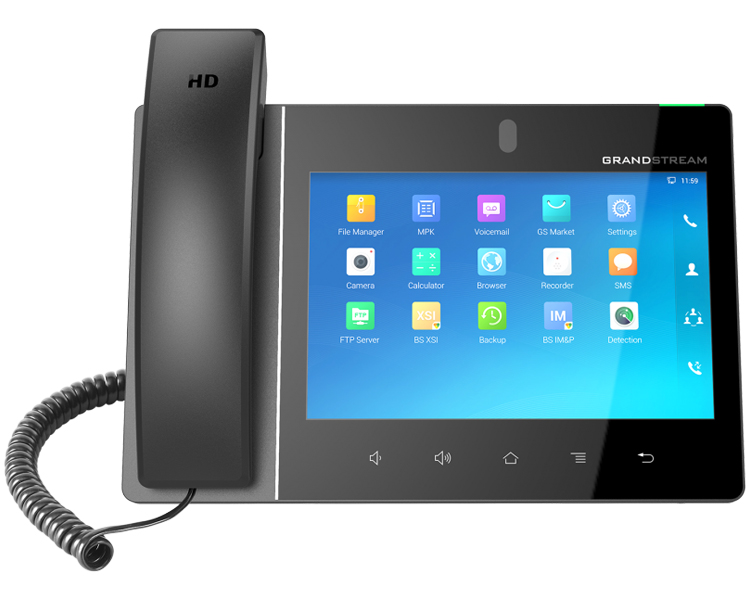 Video Phone for Android that combines a 16 line IP phone