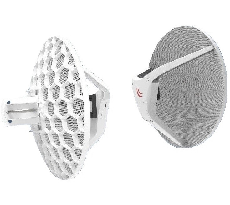 Wireless Wire Dish 2 Gb/s aggregate link up to 1500m+ without cables!