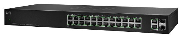 Cisco SF112-24 24-Port 10/100 Switch with Gigabit Uplinks