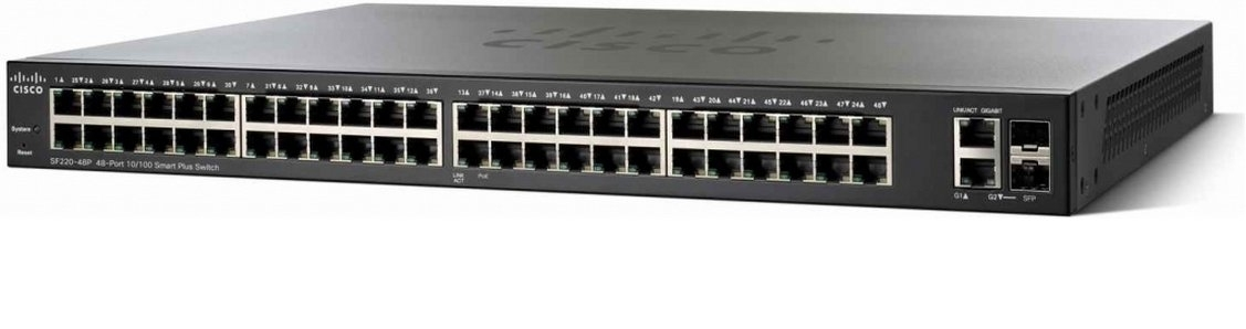 Cisco SF350-48P 48-port 10/100 POE Managed Switch
