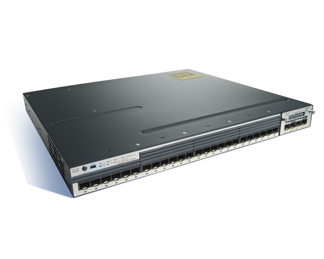 Catalyst 3750X 24 Port GE SFP IP Services