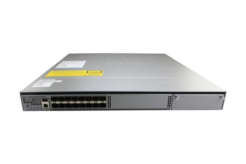 Catalyst 4500-X 16 Port 10G IP Base, Front-to-Back, No P/S