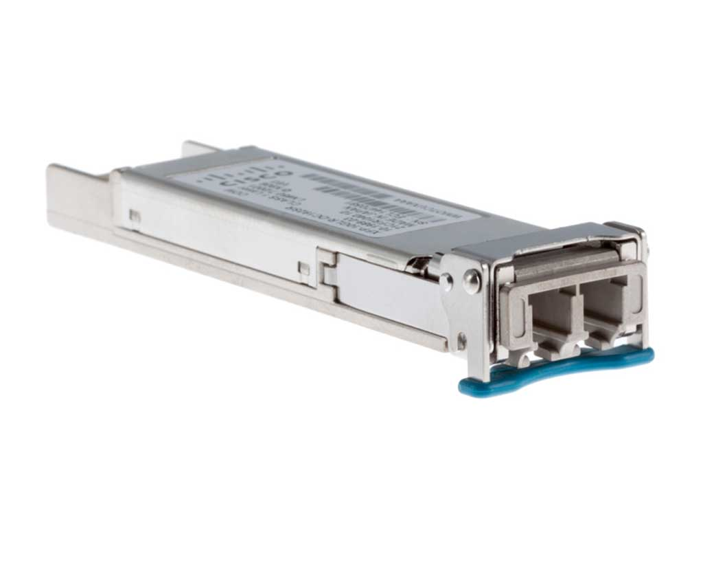 Cisco Multirate 10GBASE-ER and OC-192/STM-64 IR-2 XFP Module